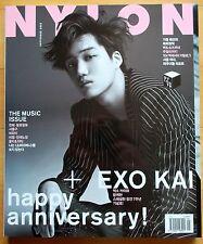 EXO KAI---Whole Magazine/Nylon Korea/September 2015
