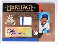 2005 Diamond Kings Heritage Collection Andre Dawson Jersey Autograph #D/100 *581