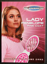 Thunderbirds il Film Costume CARD tc2 Lady Penelope'S pink coat-carte Inc.