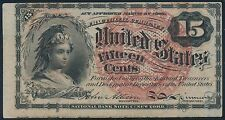 Fr1267 15¢ Fractional Currency 4Th Issue Xf-Au Br5600