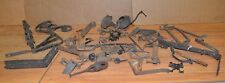 Antique hardware blacksmith forged latches brackets tinsmith collectible lot