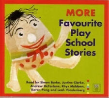 More Favourite Play School Stories by ABC Books CD Audio Simon Burke Clarke Pang