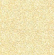 DEEP IN THE HEART TEXAS~BY 1/2 YD~MODA~CREAM TOOLED LEATHER 100% COTTON~11216-20