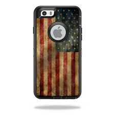 Skin Decal Wrap for OtterBox Defender iPhone 6/6S Case Vintage Flag