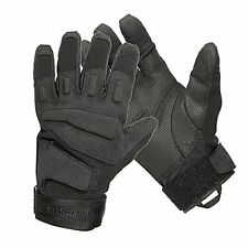 Blackhawk Men's Black S.O.L.A.G. Special Ops Full Finger Light Assault Glove, Lg