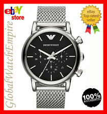 New Emporio Armani Mens classic style Chrono watch - AR1811 - RRP 290$