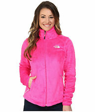 New Women's The North Face Ladies Osito Fleece Jacket Glo Pink Small