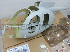 FUNKEY Scale fuselage Hughes MD500E .60 (700) size KIT with Landing Skid
