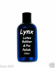 LYNX LATEX RUBBER & PVC  - ULTRA SHINE - 100ml for Only £10.99 - FREE P+P