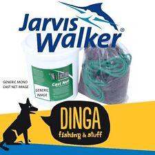 Jarvis Walker 8' Mono Cast Net with Bucket
