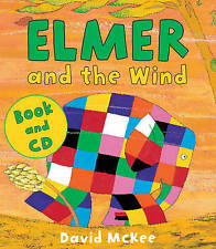 NEW  - ELMER and the WIND - BOOK and STORY CD