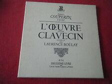 COUPERIN : L'oeuvre pour clavecin - L'intégrale par L.Boulay -3 LP 33T/12'' -TBE