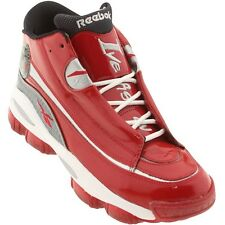 US 10.5 V55130 Reebok Men The Answer 1 DMX 10 - Allen Iverson (red / silver / wh