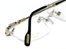 NEW PAUL VASHERONT LUNETTES PV316 RIMLESS 23K GOLD AND WHITE GOLD PLATED HOT!