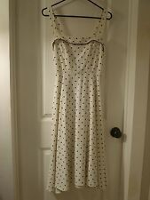 VINTAGE POLKA DOT DRESS SIZE XS,S PIN-UP ROCKABILLY, STOP STARING! sundress