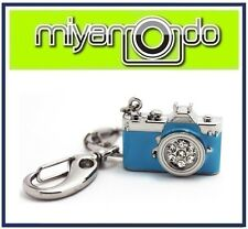 Camera Shape Metal Crystal Key Chain (Blue) 32GB USB Drive Thumb Drive Pen Drive