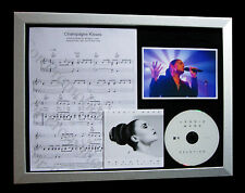 JESSIE WARE Champagne Kisses TOP QUALITY CD LTD FRAMED DISPLAY+FAST GLOBAL SHIP