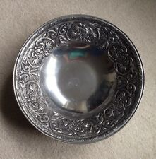 "WILTON ARMETALE WILLIAM & MARY 12 1/2"" SALAD SERVING BOWL"