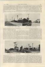 1925 sistema de transmisión Osborne Adelaide Powerstation y plan 2 Croydon Torres
