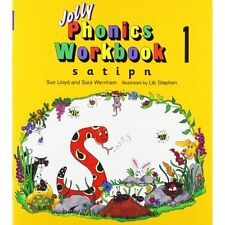 Jolly Phonics Workbooks Books 1-7 Lloyd Wernham Learning Paperbac. 9781870946506