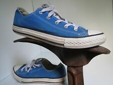 Converse All Star Sneakers Shoes Ocean Blue Laces Athletic Unisex Youth 3