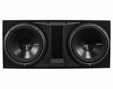 "Rockford Fosgate P3-2X12 Dual 12"" 2400W Loaded Vented Subwoofer Enclosure Sub"