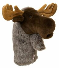 Moose Golf Animal Headcover - Driver Head Cover Daphnes Golf Club Cover