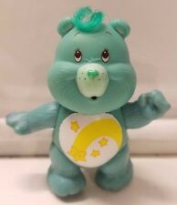 VTG 1983 WISH CARE BEAR TOY FIGURE/FIGURINE-AGC 83 HONG KONG-JOINTED/POSEABLE
