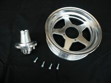 CNC front rim with hub, for Monkey bike / Dax bike, 2.5/2.75/3 X 10/12'