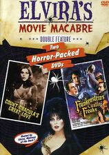 Elvira's Movie Macabre: Frankenstein's Castle of Freaks (2006, REGION 1 DVD New)