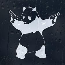 Mala Panda BANKSY Coche O Laptop Ventana Parabrisas Panel del cuerpo de la calcomanía pegatina de vinilo