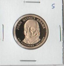 JOHN QUINCY ADAMS D/P 2008  US NEW PRESIDENT DOLLAR COIN UNC Commemorative