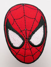 "SPIDER-MAN ""MASK #1"" - Iron-On Comic Patch Spiderman - MIX 'N' MATCH - #4D08"