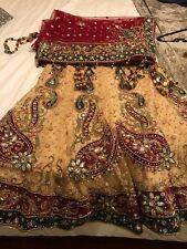 Bridal Wedding lehenga Bollywood lengha choli set
