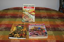 3 Weight Watchers Cook Books,