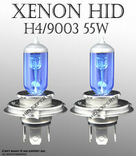 JDM 9003/HB2 60/55W High Low Beam Xenon HID White Direct Replacement Bulbs F3706