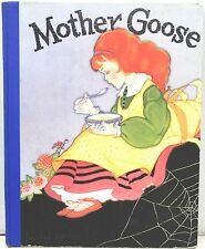Mother Goose: Her Best Known Rhymes 1933 Illustrated by Fern Bisel Peat