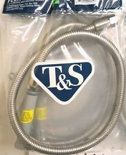 "T&S Brass B-0044-H - 44"" Flexible Stainless Steel Hose (FREE SHIPPING)"