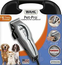New Wahl Pet Pro Thick Hair Complete Heavy Duty Dog Grooming-Clipper 13 Pcs Kit
