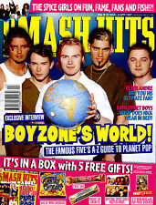 SMASH HITS 1997 SPICE GIRLS BOYZONE 3T NICK CARTER SEAN MAGUIRE