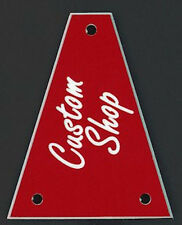 GUITAR TRUSS ROD COVER - Custom Engraved - Fits JACKSON - CUSTOM SHOP - RED