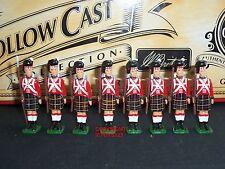 Britains 40195 hollowcast infanterie britannique + sergent 1815 metal toy soldier set