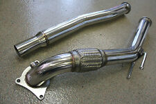 "Volkswagen VW 06-10 GTI 2.0T FSI & TSI CCTA MKV 3"" Turbo Exhaust Downpipe DP"