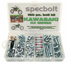 150pc Kawasaki KX Bolt Kit 60 80 85 100 125 250 500 KX85 Expert Plastic body