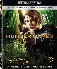 PRE ORDER : THE HUNGER GAMES 1 (4K ULTRA HD) - Blu Ray -  Region free