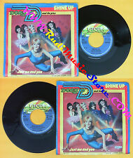 LP 45 7''DORIS D AND THE PINS Shine up Just me and you 1980 holland no cd mc dvd