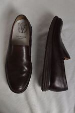 COLE HAAN Men's SIZE 10M Pinch Maine Classic BROWN Slip-on Shoes LUNARGRAND EUC!