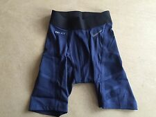 Bnwt homme nike pro combat short compression gym cyclisme formation, petite rrp £ 40