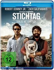 STICHTAG (Robert Downey Jr., Zach Galifianakis) Blu-ray Disc NEU+OVP