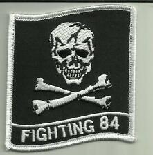 FIGHTING 84 U.S.NAVY PATCH COMBAT FIGHTERJET PILOT NAS OCEANA USA AVIATOR FLY --